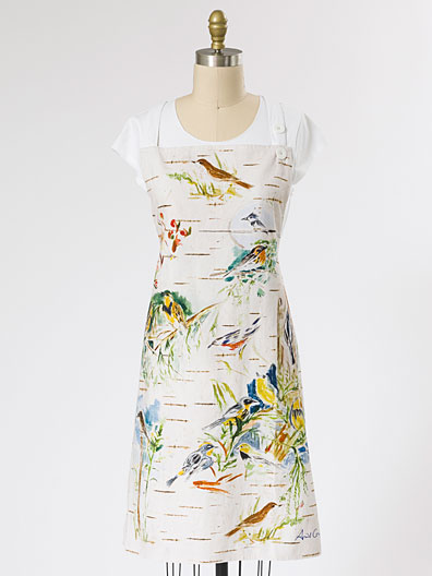 Boreal Birch Birds Chef Apron | Linens & Kitchen, Aprons