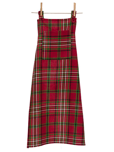 Christmas Plaid Apron | Linens & Kitchen, Aprons, Ovenmitts