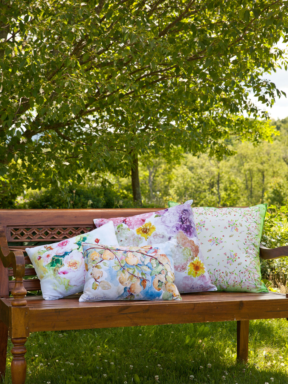 Snapdragon Watercolor Cushion Cover Your Home Cushions
