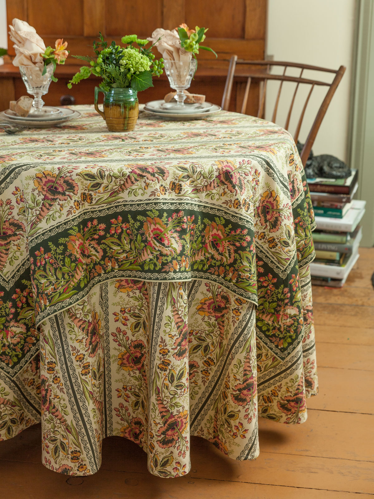 Cornucopia Tablecloth April S Attic Sale Linens