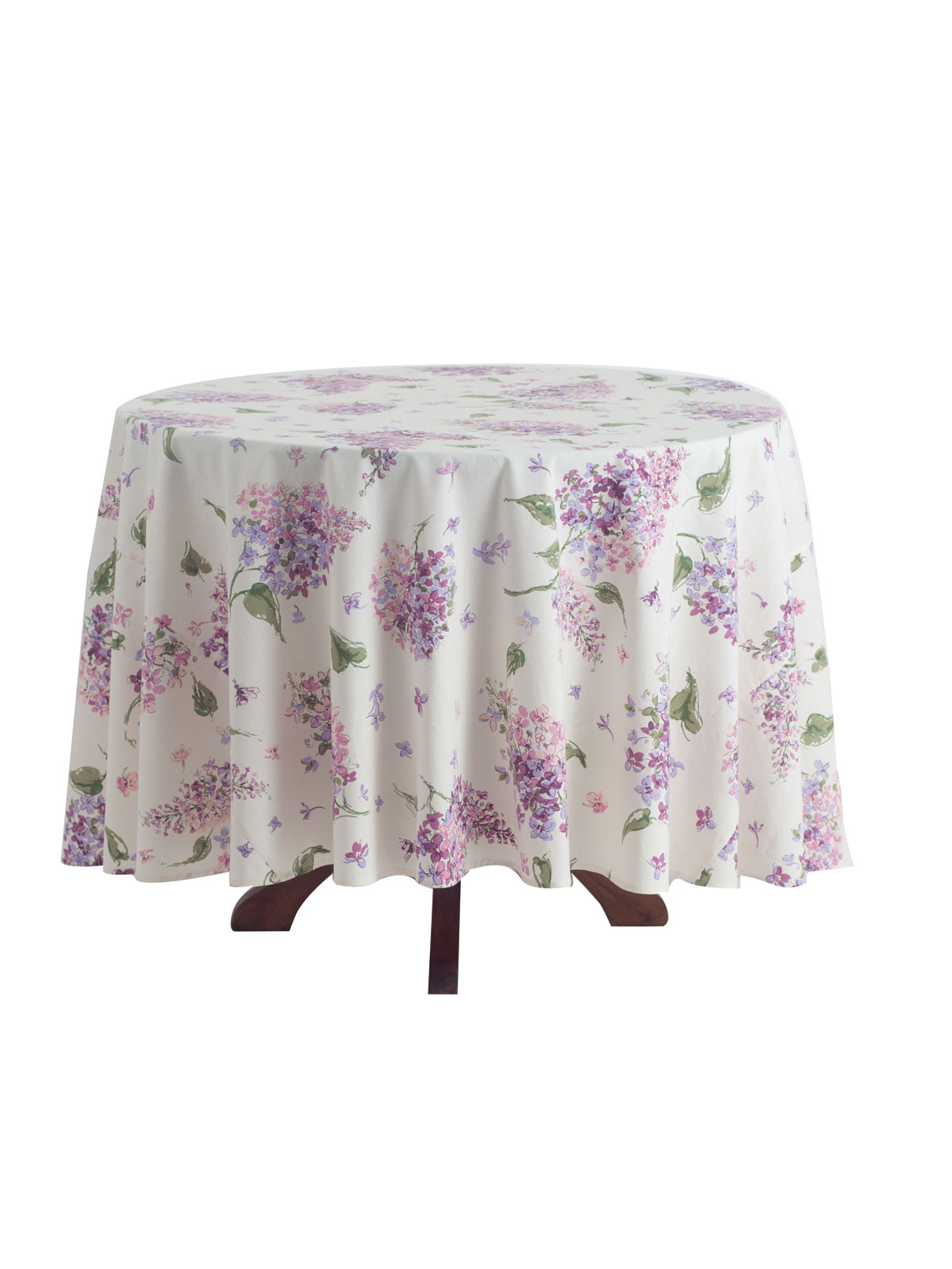 Lilac Round Tablecloth Linens Kitchen Tablecloths