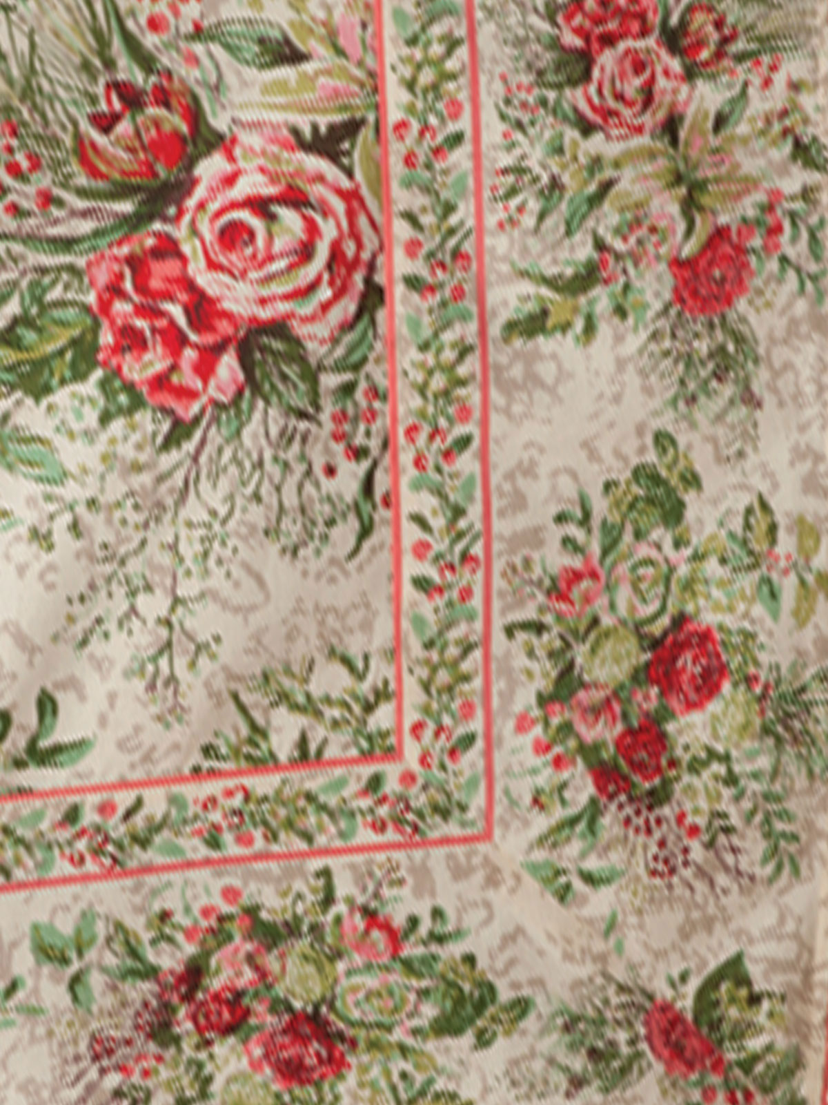 Merry Tablecloth Antique Your Home Christmas Forever