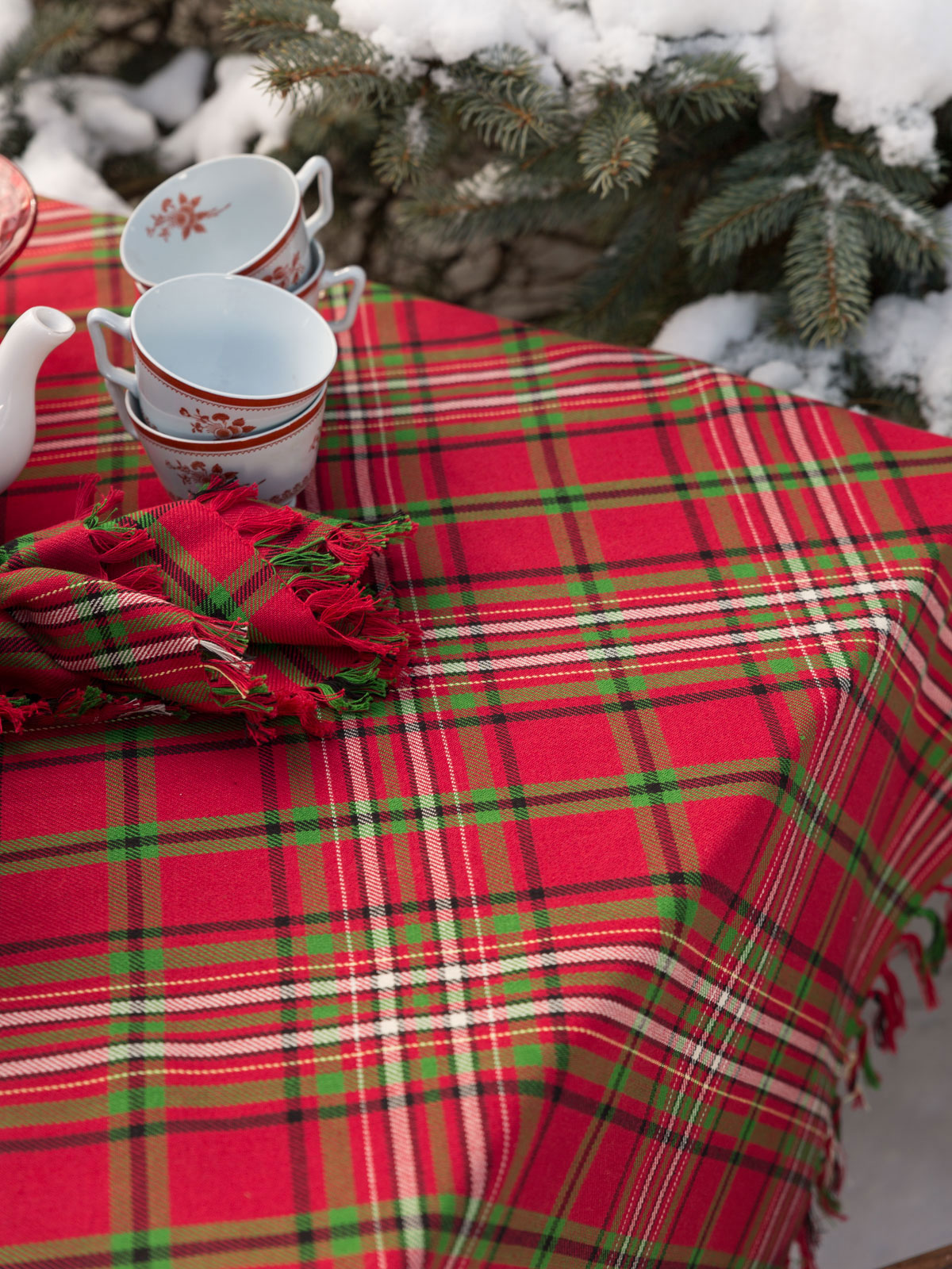 April Cornell Christmas Placemats