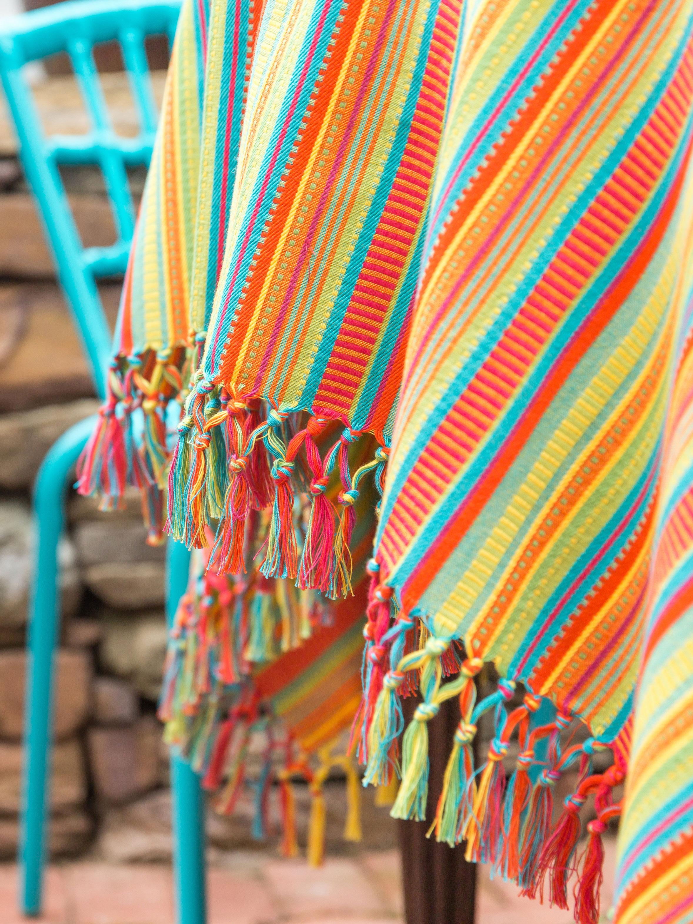 Fiesta Stripe Tablecloth Linens Amp Kitchen Tablecloths