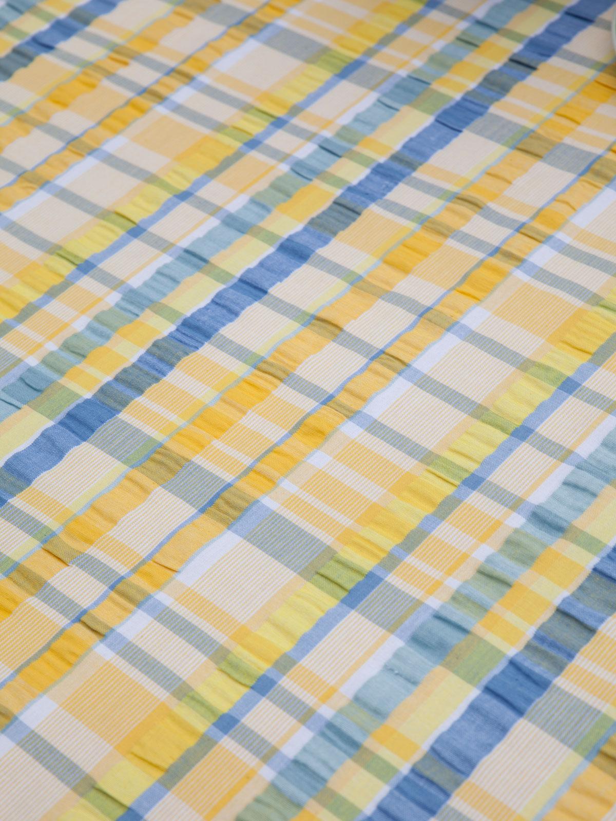 Provence Seersucker Tablecloth Linens Amp Kitchen