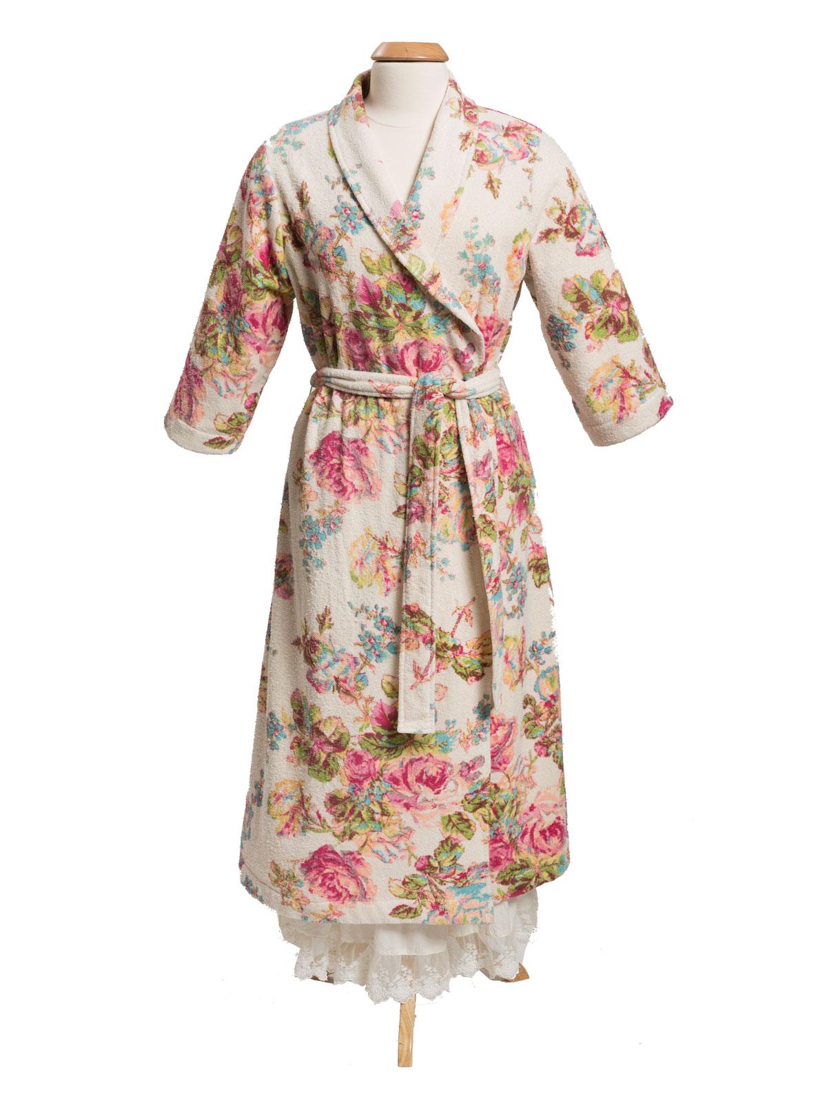 Victorian Rose Terry Robe   Ladies Clothing, Nighties ...