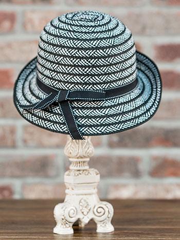 Toyo Braid Bucket Hat w/ Bow Band