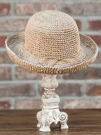Raffia Roller Hat