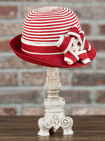 Ribbon Paper Braid Bucket Hat