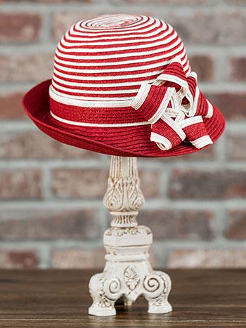 Ribbon Paper Braid Bucket Hat
