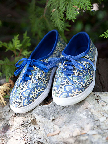 English Paisley Shoe