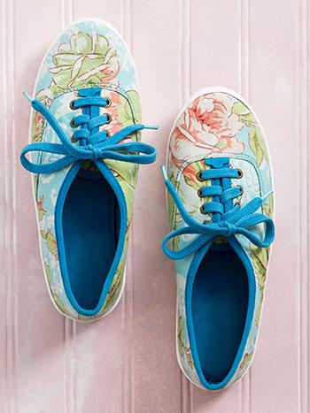 Tea Rose Shoe