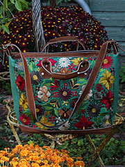 Embroidered Carpet Bag