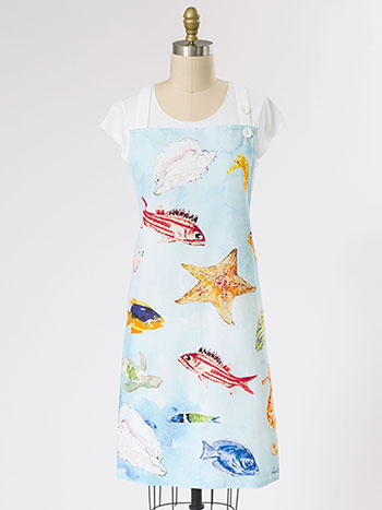 April's Reef Chef Apron