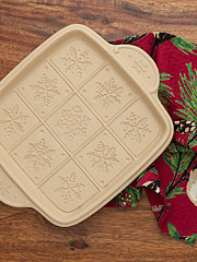 Holiday Shortbread Pan
