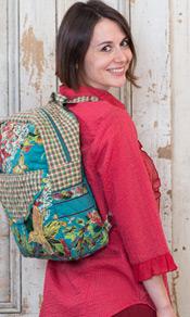 Harriet's Hydrangea Backpack