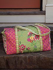 Bright Patchwork Duffle Bag