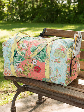 Garden Patchwork Duffle Bag