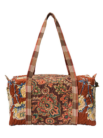 Harvest Riches Patchwork Duffle Bag