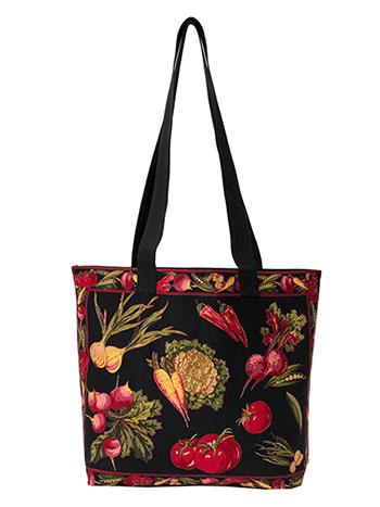 Farm Fresh Market Bag - Black