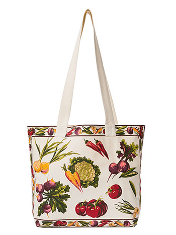 Farm Fresh Market Bag - Ecru