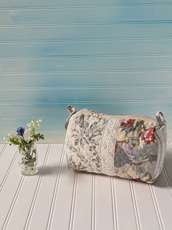 Day Dream Patchwork Large Cosmetic Bag