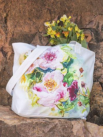 Peony Market Bag