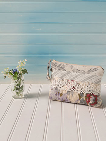 Day Dream Patchwork Small Cosmetic Bag