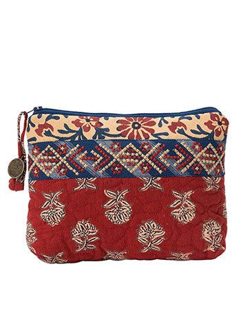 Flea Market Patchwork Small Cosmetic Bag