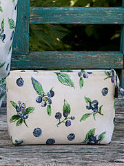 Blueberries Oil Small Cosmetic Bag
