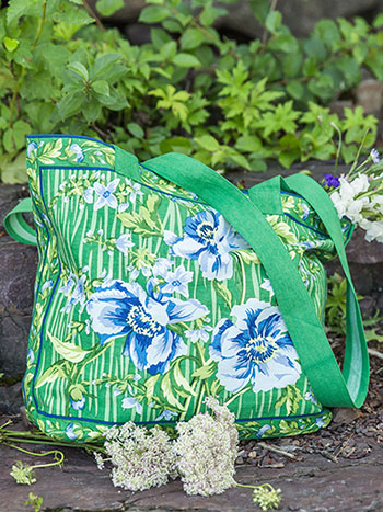 Water Lily Market Bag