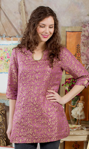 Sugar Plum Ladies Tunic