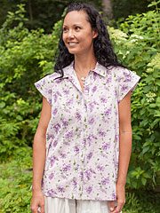 Lilac Ladies Blouse