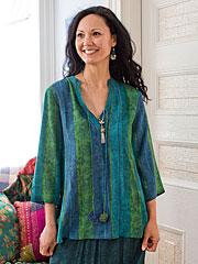 Morocco Stripe Blouse
