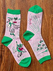 'Don't Judge Me' Crew Socks
