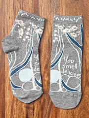 'You smell delicious' Ankle Socks