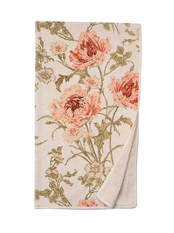 Rose Nouveau Terry Bath Towel