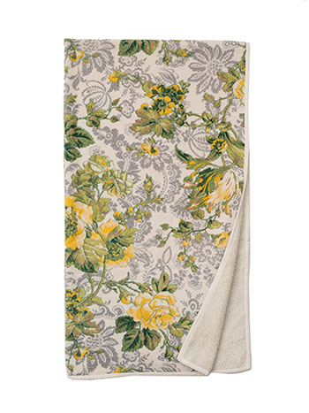 Tea Rose Terry Bath Towel