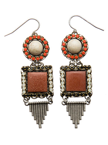 Copper Mirage Earrings