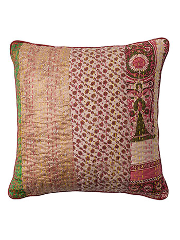 Harvest Kantha Cushion
