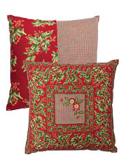 Joyful Patchwork Cushion Cover