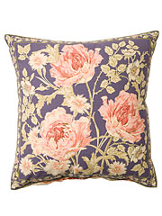Rose Nouveau Cushion Cover - DustyAmethyst