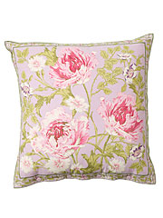 Rose Nouveau Cushion Cover - Orchid