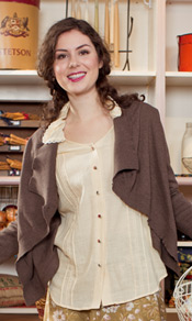Hazelnut Ladies Cardigan