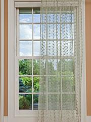 Nanette Net Curtain - Sage
