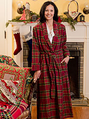 Scottie Ladies Dressing Gown