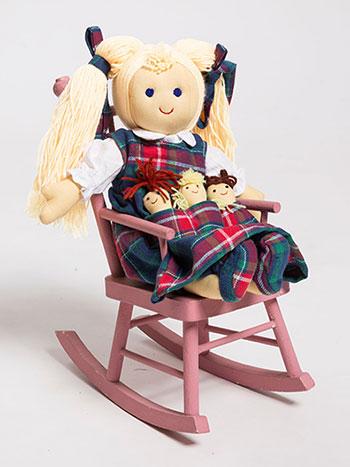 Allistair Plaid Doll