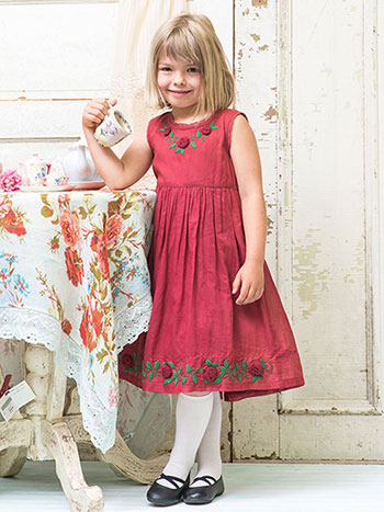 Aurelie Girls Dress