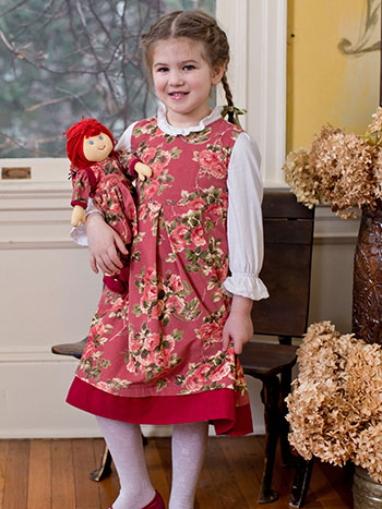 Heirloom Rose Girls Dress