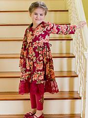 Cottage Rose Girls Dress